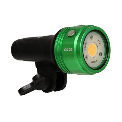 Phare iTorch GS22 Fishlite iDas 2200 lumens