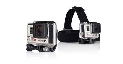 Fixation frontale + QuickClip GoPro
