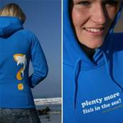 Sweat Fourth Element Plenty More Fish Hoody Femme